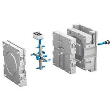Double Stack Injection Mold