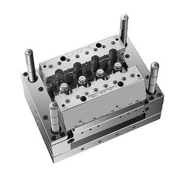 PA6 4 Cavity Interchangeable Insert Mold