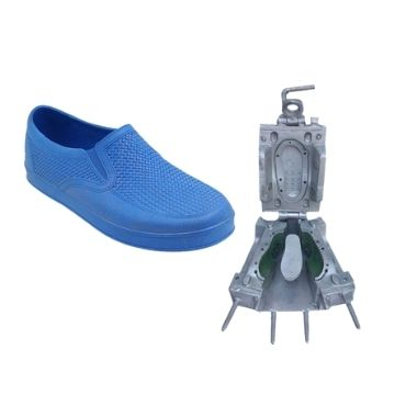 PVC Half Close Shoes Injection Mold